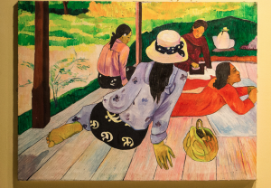 Inspiration for those looking to develop their abilities even more. Not only was Paul Gauguin a great painter he was also a great writer. Photo courtesy of Rita Willaert,