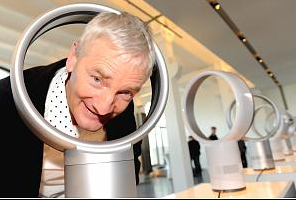 'Very clever'. An overheard comment about James Dyson.