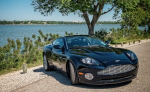 Aston Martin. The car you saw in all those James Bond films. Great speed ... and yes, nice grillwork.