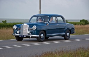 On the heels of a 1955 world Championship came the Mercedes 180. We've heard that in certain African countries they're still on the road, operating as taxis.