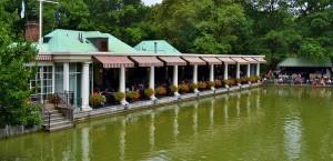 The Loeb Boathouse, Central Park.