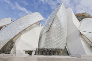 Just opened. The new Louis Vuitton Foundation in Paris. Created by Frank Gehry.