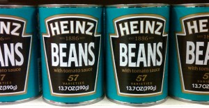 Beanz Meanz Heinz, right?