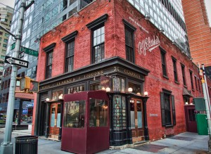 PJ Clarke's in New York. Maybe you've been there.